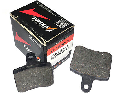 Go Kart Frixa OTK New Style 401S Brake Pad Set Soft (CA13) Racing Race Karting