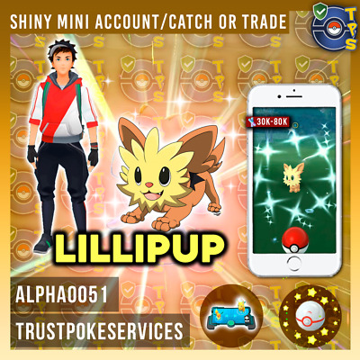 Pokemon Go Shiny Lillipup SHINY Catch Guaranteed !