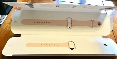 Apple Watch 4 40mm Sports Pink Strap With Gold Stainless Steel Pin