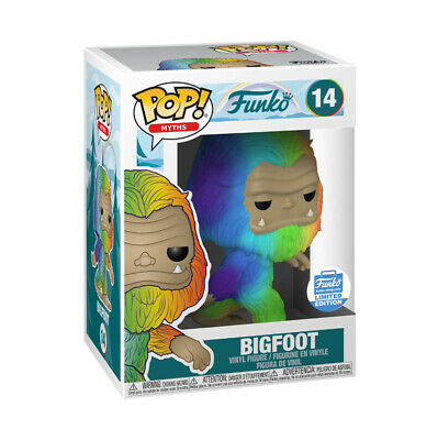 POP! MYTHS: RAINBOW BIGFOOT Preorder Confirmed Free Shipping!