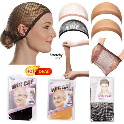 HOT Stretchable Mesh&Stocking Elastic Wig Hair Cap Net Unisex Wig Cap Hairnet LZ