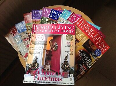 Period Living Magazine 2004 complete set without May- 11 issues