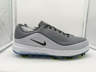NIKE AIR ZOOM Precision UK 7.5 Cool Grey Black Wolf Grey 866065 001 Golf Shoes