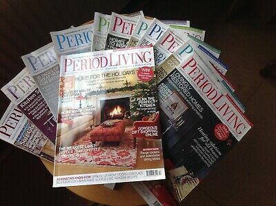 Period Living Magazine 2009 complete set
