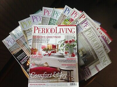 Period Living Magazine 2010  complete set