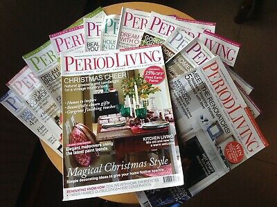 Period Living Magazine 2011 complete set