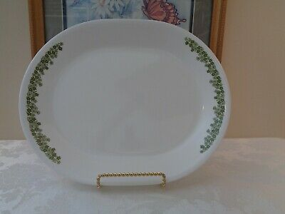 "Corelle CRAZY DAISY Spring Blossom 12.25"" Oval Serving Platter"