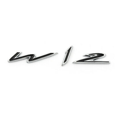 Metal Wing W12 Emblem Badge Sticker For Bentley Genuing Continental GT GTC