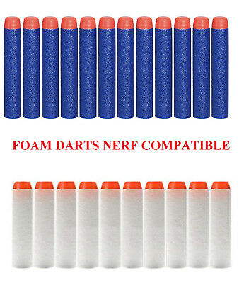 Foam Darts Soft Refill Bullets Round Head Gun Blasters Nerf N-Strike Toy Elite