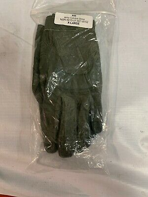 Army Combat Gloves Foliage Green Size X-LARGE New With Tags And Package
