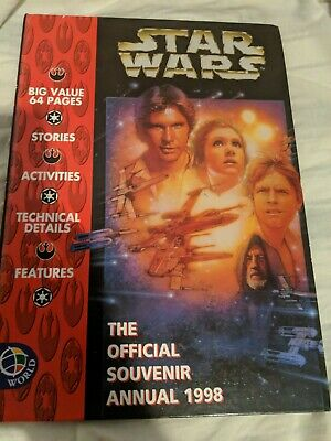STAR WARS - THE OFFICIAL SOUVENIR ANNUAL - 1998  Hardback Book