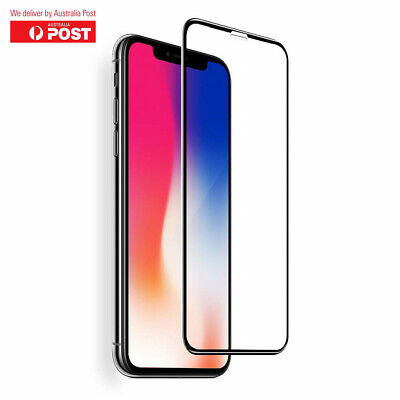 Tempered Glass Screen Protector Premium Tempered Film Apple iPhone X XR XS MAX