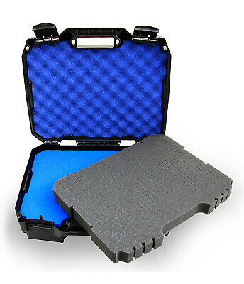 Microphone Case Fits Up to 12 Wireless Mics by Shure , Akg , Sennheiser and More