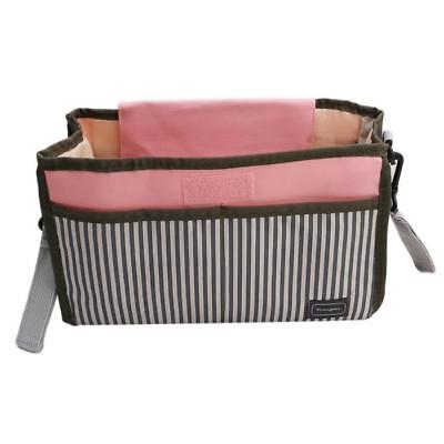 Baby Stroller Pram Pushchair Travel Organizer Storage Bag Bottle Diaper OO