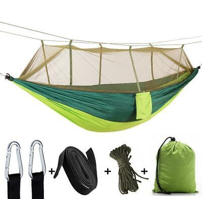 Camping Hammock Outdoor Tent Hanging Bed Swing Chair Net Portable More Color