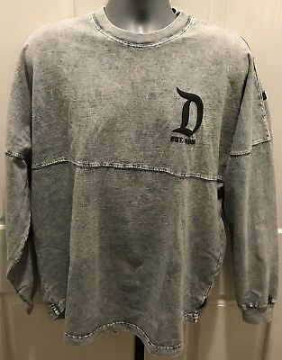 """Disneyland Resort Est. 1955"" Spirit Jersey Stone Wash Gray Denim Small Nwt"