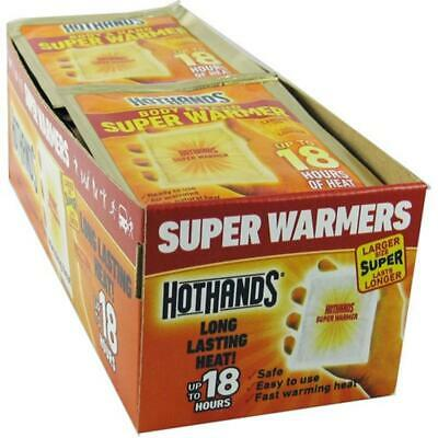 HotHands Extra Large 18 Hour Super Hand and Body Warmer - 40 Pack Case