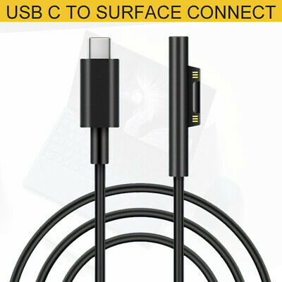For Laptop/Pro 6 5 4 3 Type-C USB to Surface Connector PD Charging Cable AU