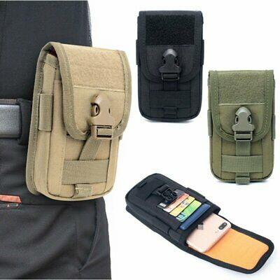 Tactical Molle Pouch Handbags Belt Waist Backpack Cell Phone bag Pack