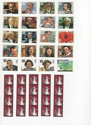 35-Cent Postage Stamp Combos - Enough to Mail 20 Postcards - Face Value $7.00