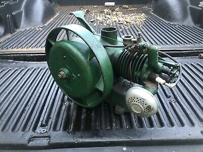 Nelson Brothers 5/8 Hp Gas Steam Engine Antique Air Cooled Hit Miss