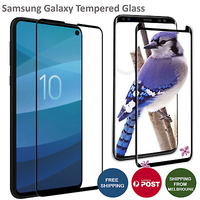 Tempered Glass Screen Protector For Samsung Galaxy S10 10e S9 S9+ Plus Note 9 8