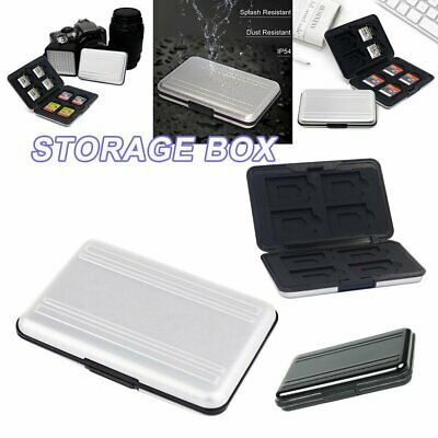Waterproof Memory Card Case Storage Box Holder for Micro SD SDXC SDHC TF Card S4