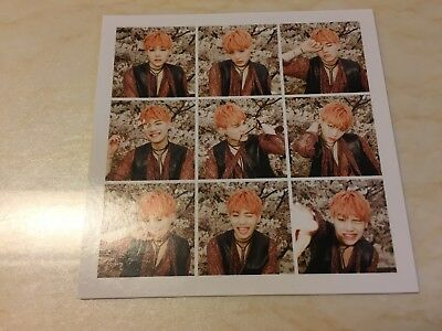 BTS SUGA [ HYYH pt.1 Official Photocard ] The Mood For Love / NEW, RARE / +Gift