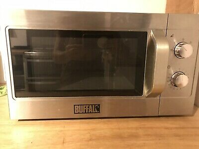 BUFFALO 1100 Watt Manual Microwave Oven Commercial Catering