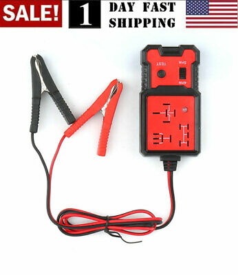 12V US Electronic Automotive Relay Tester for Cars Auto Battery checker AE100