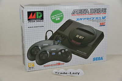 SEGA Official MEGA Drive Mini HDMI Retro Console W Pack with 2 PADS + 42 Games