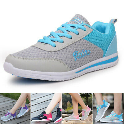Tennis Shoes Ladies Casual Athletic Soft Sole Trainner Sport Sneaker Comfy