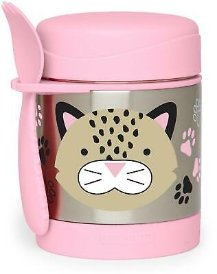 Skip Hop ZOO INSULATED FOOD JAR - LEOPARD Toddler Feeding Storage BNIP