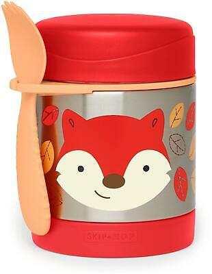 Skip Hop ZOO INSULATED FOOD JAR - FOX Toddler Feeding Storage BNIP