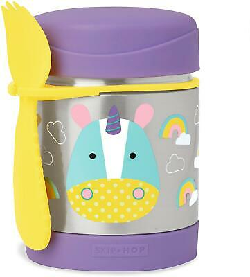 Skip Hop ZOO INSULATED FOOD JAR - UNICORN Toddler Feeding Storage BNIP