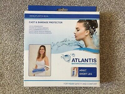 Atlantis Cast & Bandage Protector Adult Short Leg New/other