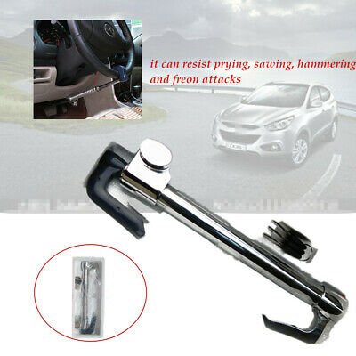 Car hyperbolic lock core Extendable Double Hook Steering Wheel Lock Anti Theft