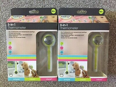 Brother Max 3-in-1 Thermometer X2 BNIB