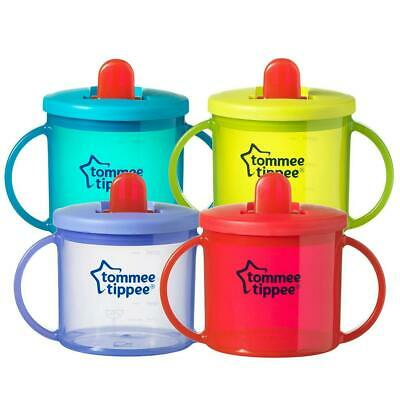 Tommee Tippee First Cup - Free Flow - 4m - Handles 190ml