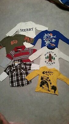 12-18 Month Boys Long Sleeve Lot Old Navy Gap Sonoma