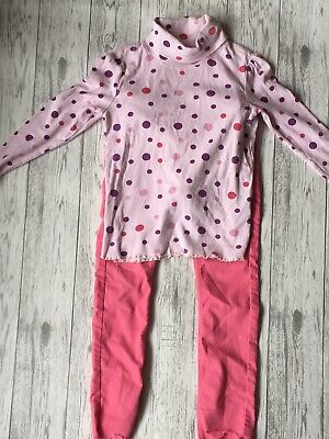 Girls 6-7 years Jumper And Jeans Outfit Mixed Brands
