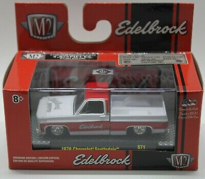 M2 Machines 2019 O'Reilly's Exclusive 1979 Chevrolet Scottsdale Edelbrock 1:64