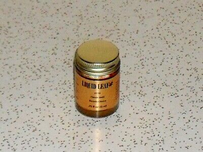 Liquid Leaf 6110 Classic Gold Dorado metallic paint .75 oz. full bottle