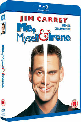 Me Myself & Irene Blu Ray UK Region Free Rare Brand New and Factory Sealed