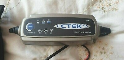 Ctek Multi XS 3600 Car Battery Charger Bag All Cables Switched External