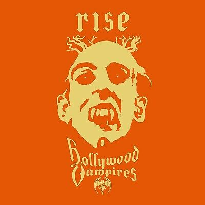 HOLLYWOOD VAMPIRES 'RISE' CD 2019 Alice Cooper Johnny Depp Joe Perry SEALED