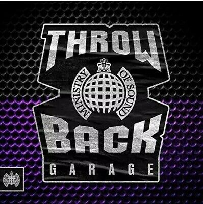 Ministry Of Sound Throw Back Garage 3 CD Disc Box Set Various Artists New Sealed