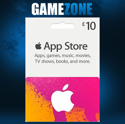 iTunes Gift Card £10 GBP UK Apple iTunes Code 10 Pound United Kingdom