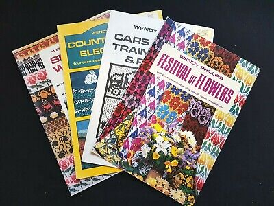 Bk273 Silver Reed Brother Knitting Machine Wendy Phillips Pattern Books