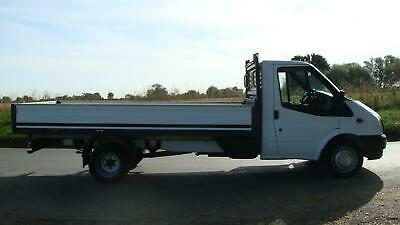 63 Reg Ford Transit 350 Lwb 14 Ft Foot Alloy One Stop Dropside Truck 125 Bhp